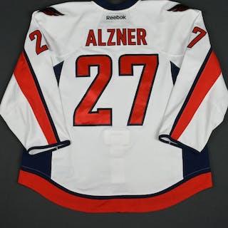 Alzner, Karl White Set 3 / Playoffs Washington Capitals 2015-16 #27 Size: 58