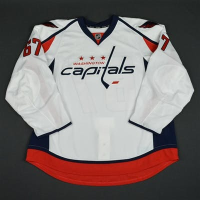 Brown, Chris White Set 1 - Game-Issued (GI) Washington Capitals 2015-16