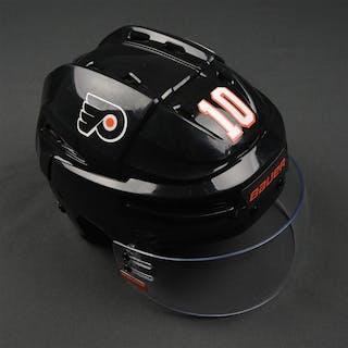 Schenn, Brayden Stadium Series - Bauer Reakt Helmet - Worn 2/25/2017