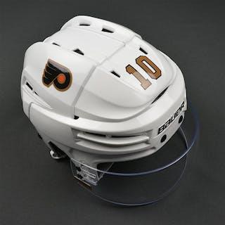Schenn, Brayden Third Bauer Reakt Helmet w/Shield Philadelphia Flyers