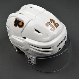 Streit, Mark Third Bauer Reakt Helmet w/Shield Philadelphia Flyers