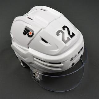 Weise, Dale White Bauer Reakt Helmet Philadelphia Flyers 2016-17 #22