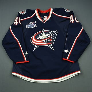 Boll, Jared Blue Set 3 w/All-Star Game Patch Columbus Blue Jackets