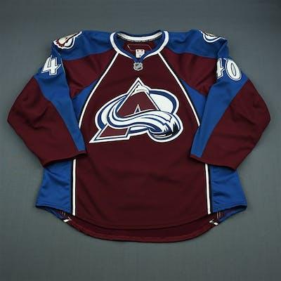 Olver, Mark Burgundy Set 1 - NHL Debut Colorado Avalanche 2010-11 #40 Size: 56