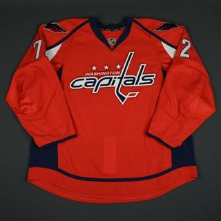 Herbert, Caleb Red Set 1 - Game-Issued (GI) Washington Capitals 2015-16