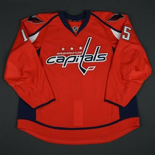 Koules, Miles Red Set 1 - Game-Issued (GI) Washington Capitals 2015-16