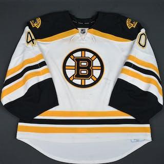 Rask, Tuukka White Set 2 Boston Bruins 2015-16 #40 Size: 58G