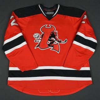 Malmivaara, Olli Red Set 2 (RBK 1.0) Lowell Devils 2007-08 #2 Size: 58+