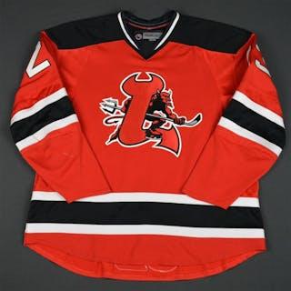 Ruggeri, Rosario Red Set 2 (RBK 1.0) Lowell Devils 2007-08 #23 Size: 58
