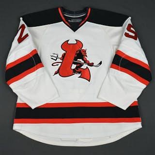 Ruggeri, Rosario White (RBK 2.0) Lowell Devils 2008-09 #29 Size: 58
