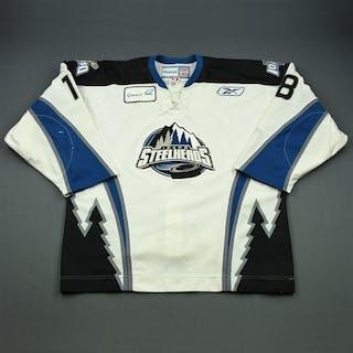 Molle, Dustin White Set 1 Idaho Steelheads 2010-11 #18 Size: 56