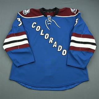 Stollery, Karl Third Set 1 Colorado Avalanche 2013-14 #3 Size: 56