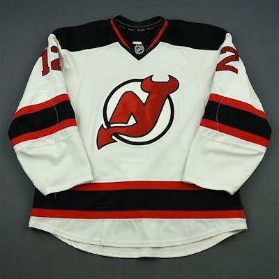 Brunner, Damien White Set 3 New Jersey Devils 2013-14 #12 Size: 56