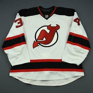 Merrill, Jon White Set 3 New Jersey Devils 2013-14 #34 Size: 58