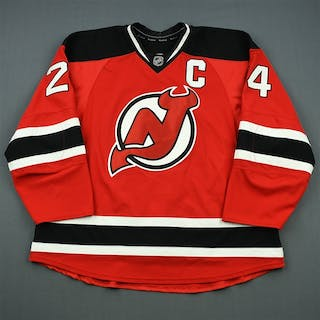 Salvador, Bryce Red Set 3 w/C New Jersey Devils 2013-14 #24 Size: 58+