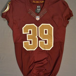 Amerson, David Burgundy Throwback worn October 14, 2014 vs. Tennessee