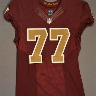 Lauvao, Shawn Burgundy Throwback worn October 14, 2014 vs. Tennessee