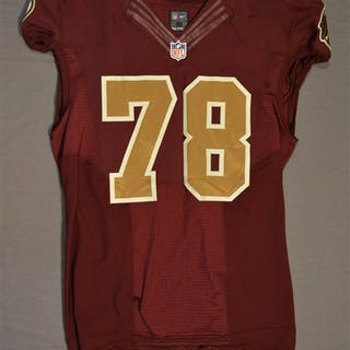 Lichtensteiger, Kory Burgundy Throwback worn October 14, 2014 vs.