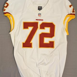 Bowen, Stephen White Regular Season Washington Redskins 2014 #72 Size: 50 LINE