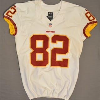 Paulsen, Logan White Regular Season Washington Redskins 2014 #82 Size: 44 SKILL