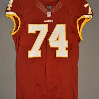 Polumbus, Tyler Burgundy Regular Season Washington Redskins 2014 #74