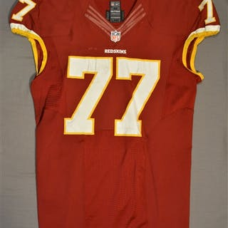 Lauvao, Shawn Burgundy Regular Season Washington Redskins 2014 #77