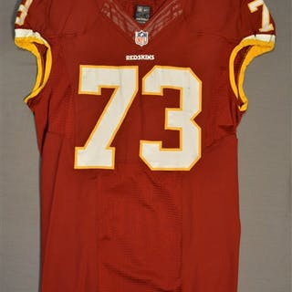 Kearse, Frank Burgundy Regular Season Washington Redskins 2014 #73