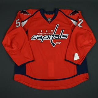 Moore, Mike Red Set 1 - Game-Issued (GI) Washington Capitals 2015-16