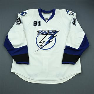 Stamkos, Steven * White Set 3 - First 50-Goal Season - Photo-Matched