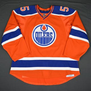 Letestu, Mark Inaugural Orange Retro, Worn in Home Opener on October