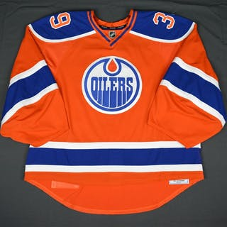 Nilsson, Anders Inaugural Orange Retro Back-Up Only, Worn in Home