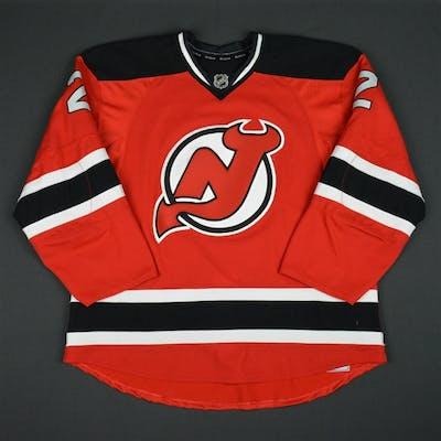 Moore, John Red Set 3 New Jersey Devils 2015-16 #2 Size: 56