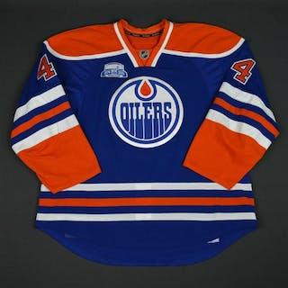 Kassian, Zack Blue Set 3, w/ Rexall Place Farewell Season Patch Edmonton