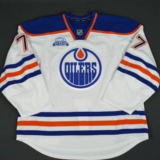 Klefbom, Oscar White Set 2 Edmonton Oilers 2015-16 #77 Size: 58