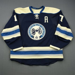 Dubinsky, Brandon Third Set 1 w/A Columbus Blue Jackets 2014-15 #17 Size: 56