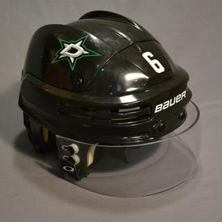 Daley, Trevor Black, Bauer Helmet w/ Oakley Shield Dallas Stars 2014-15 #6