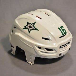 Garbutt, Ryan White, CCM Helmet - Hockey Fights Cancer & Flag Decals