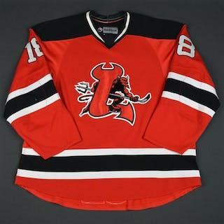 Halischuk, Matt Red (RBK 2.0) - CLEARANCE Lowell Devils 2008-10 #18 Size: 58