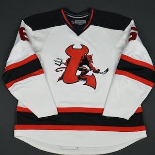 Cohen, Matt White (RBK 1.0) - CLEARANCE Lowell Devils 2007-08 #6 Size: 56