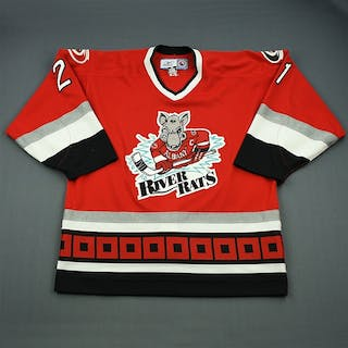 Stewart, Chris * Red Albany River Rats 2006-07 #21 Size: 54