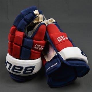 Richards, Mike Bauer Nexus 1000 Gloves Washington Capitals 2015-16 #10 Size: 14