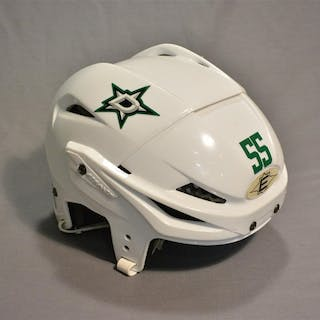 Gonchar, Sergei White, Easton Helmet, Shield Removed Dallas Stars 2013-14 #55
