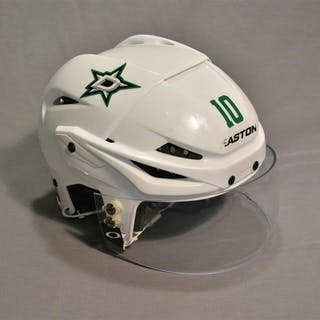 Horcoff, Shawn White, Easton Helmet w/ Oakley Shield Dallas Stars 2014-15 #10