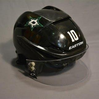 Horcoff, Shawn Black, Easton Helmet w/ Oakley Shield Dallas Stars 2014-15 #10