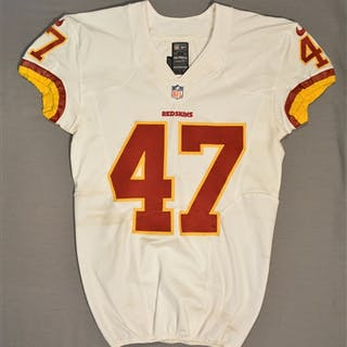 Davis, Akeem White Regular Season Washington Redskins 2014 #47 Size: 42 SKILL
