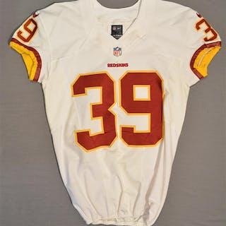 Amerson, David White Regular Season Washington Redskins 2014 #39 Size: 42 SKILL