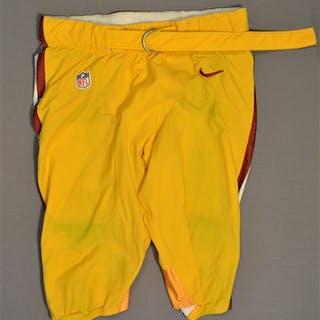 Lichtensteiger, Kory Yellow Pants Washington Redskins 2014 #78 Size: 40
