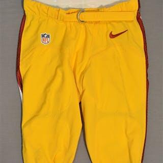 Garcon, Pierre Yellow Pants Washington Redskins 2014 #88 Size: 34-SHORT
