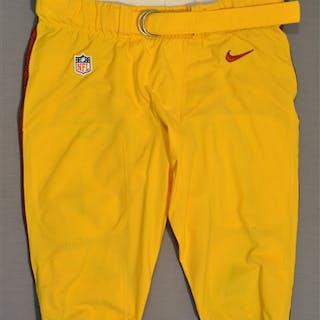 Compton, Tom Yellow Pants Washington Redskins 2014 #68 Size:42