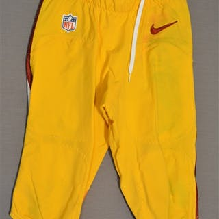 Biggers, E.J. Yellow Pants Washington Redskins 2014 #30 Size: 28-SHORT